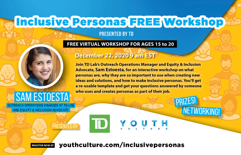 Inclusive Personas Workshop presented by TD