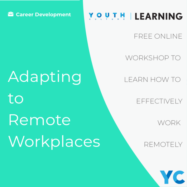 Youth Culture Workshop Remote Working